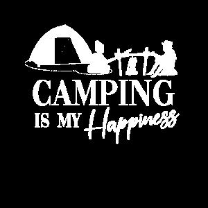 Camping macht mich Glücklich