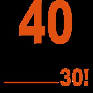 Ausverkauft 40. Geburtstag