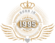 Jahrgang 1990 Geburtstagsshirt: born_in_1995