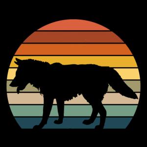 Retro Wolf