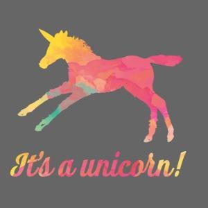 It's a unicorn!