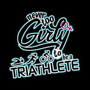 Triathlon - Never too girly for