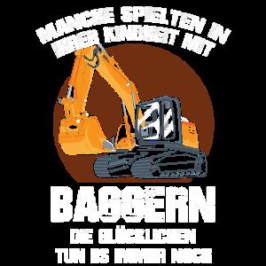 Bagger Fahrzeug