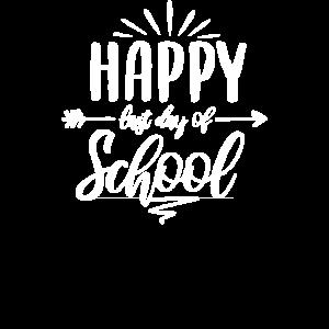 Glücklicher letzter Schultag Letzter Schultag, Ende