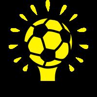 Fußball Lampe Konzept Design