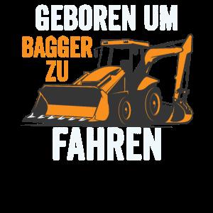 Bagger Baustellen Fahrzeug