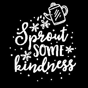 Sprießen Sie irgendeine Freundlichkeits-Lehrer-T-Shirt Schulanlage