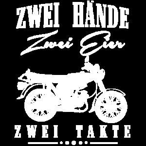 Zwei Hände Zwei Eier Zwei Takte, Simson DDR Moped