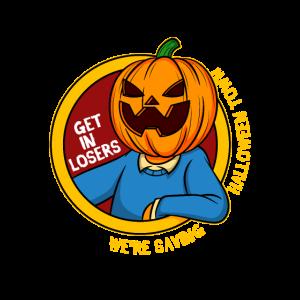 Retten wir Halloween Stadt Jack O Latern Geschenk