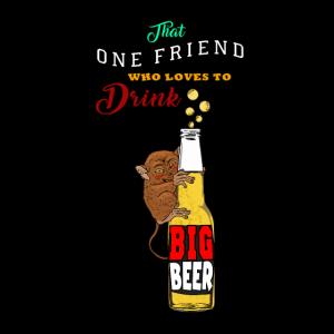 Dieser eine Freund Geschenk für Bier und Makis