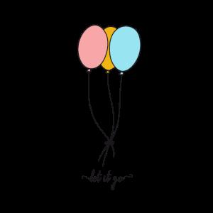 Let it go Luftballons