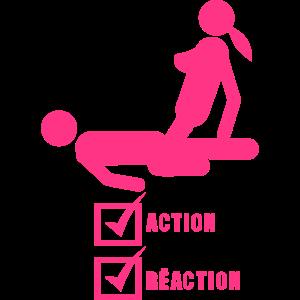 Aktion gültig Reaktion geschlechtliche Liebe