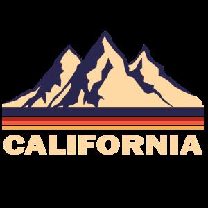 california kalifornien retro geschenk