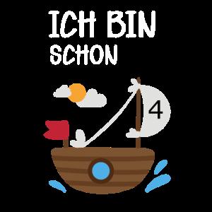 4.Geburtstag Kindergeburtstag Piraten Geschenk