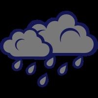 grau regen Wolke 102