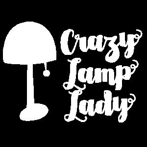 Verrückte Lampendame SCHREIBTISCH-LAMPEN-Beleuchtung