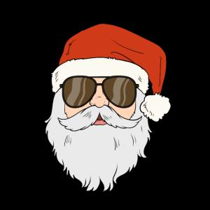 Cool Santa Claus Heilig Abend Weihnachten