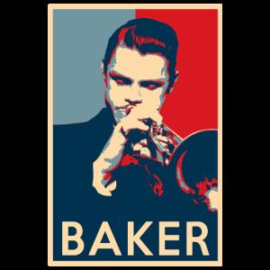 Chet Baker Hope Poster - Größen der Jazz Geschicht