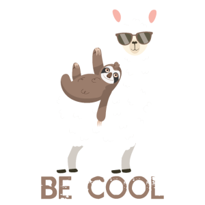 ALPACA SLOTH be cool Sonnenbrille