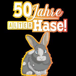 50 Jahre du alter Hase!