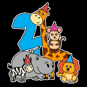 2 Geburtstag Geschenk Kinder Kleinkind Baby