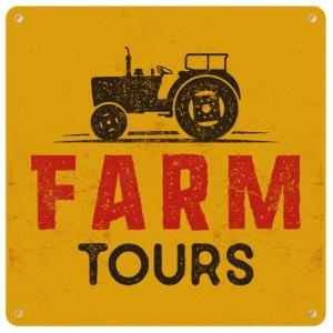 Farm Tours Poster