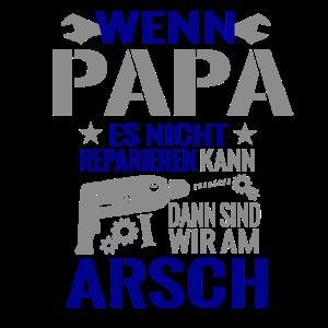 Papa kann es reparieren Geschenk Shirt