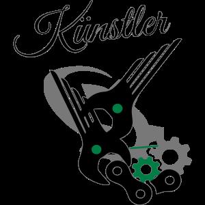 Mechaniker Künstler Schrauber