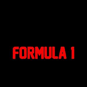 F Eins Fan Formel Geschenk T-Shirt