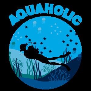 Aquaholic Taucher