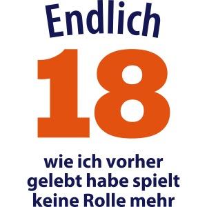 18. Geburtstag 18th birthday Party feiern eighteen