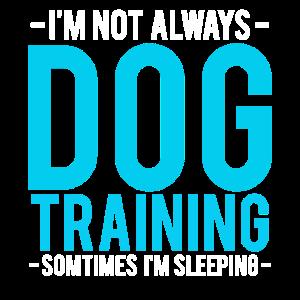 Ich bin nicht immer Hundetraining