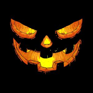 Halloween Kürbisgesicht Lustiges Geschenk