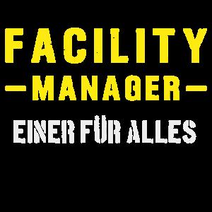 Facility Manager Hausmeister Shirt Geschenk