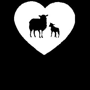 Schaf, Schafe, Ziege, Ziegen, symbol zeichen illus