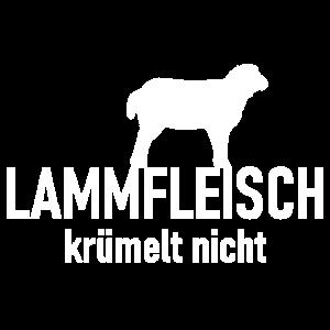 Lammfleisch krümelt nicht - Lamm Schaf Filet Grill