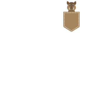 Wildschwein in Tasche Tierfreund T Shirt Geschenk