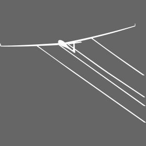 Wasser Segelflugzeug Segelflieger Geschenkidee