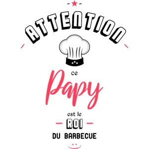 Attention ce papy est le roi du barbecue