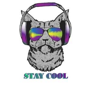 STAY COOL - Katzen TShirt