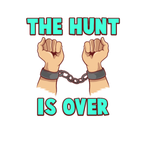 The Hunt is over bachelorette t-shirt