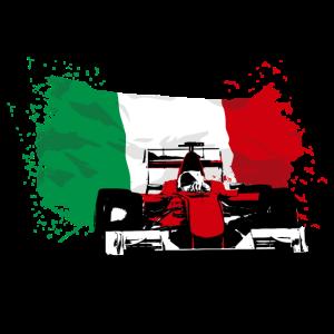Formula One - Italy Flag