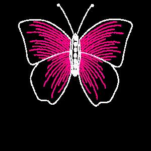 Schmetterling Pailletten PINK, Geschenk