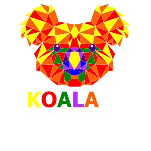 Koala Ekoalaity Schwul Regenbogen LGBTQ Geschenk