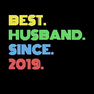 Bester Ehemann Seit 2019 Ehemänner Geschenke