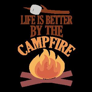 Lagerfeuer - Feuerstelle