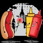 Hot Dog Love Ketchup