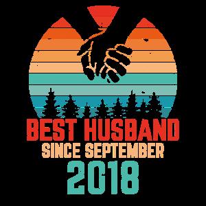 Best Husband since September 2018 Geschenk
