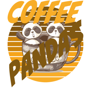 Coffee Pandas Coffee Color Zwei Pandas Kaffeetasse