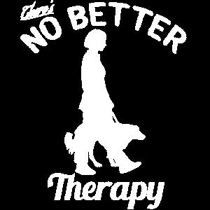 Es gibt keine bessere Therapie als mit dem Hund spazieren zu gehen